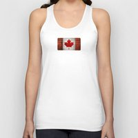 canada Tank Tops featuring Canada by Arken25
