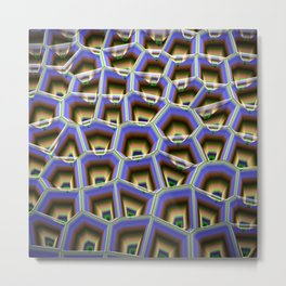 Colourful patterns in 3D Metal Print