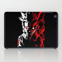 naruto iPad Cases featuring Naruto by offbeatzombie
