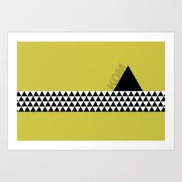 KOM - King of the Mountain Art Print