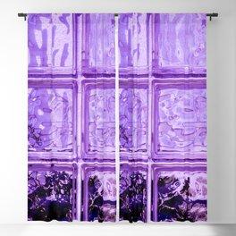 Purple window. Blackout Curtain