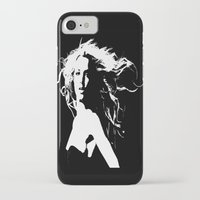 britney iPhone & iPod Cases featuring Pretty Britney by Dora Birgis