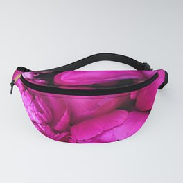 Hot Pink Flowers Fanny Pack