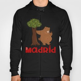 MADRID: Bear and Madrono (v.2) Hoody
