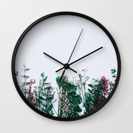 Peeking Nature Wall Clock