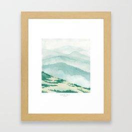 Sonoma: Coleman Valley Road Framed Art Print