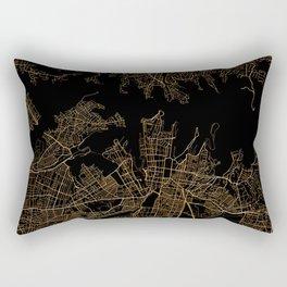 Syndey map, Australia Rectangular Pillow