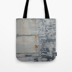 Warehouse District -- Rustic Industrial Farm Chic Abstract Tote Bag