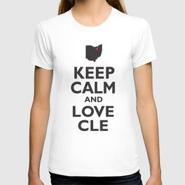 Keep Calm and Love CLE T-shirt