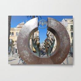Hands of Spain, Daytime Metal Print
