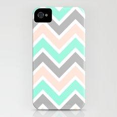 MUTED CHEVRON Slim Case iPhone (4, 4s)