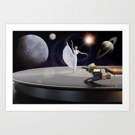 Prima Ballerina by GEN Z Art Print