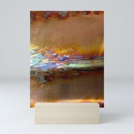 copper blaze Mini Art Print