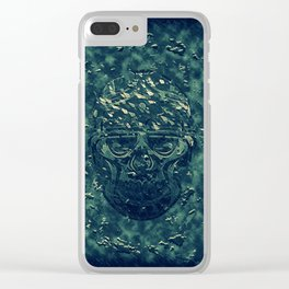 Skull X Clear iPhone Case
