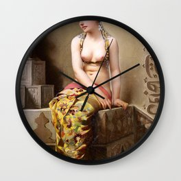 "Luis Ricardo Falero ""Enchantress"" Wall Clock"