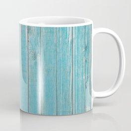 Blue Slats Coffee Mug