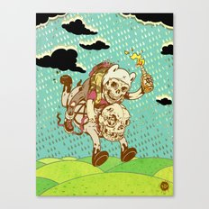 Anarchy Time Canvas Print