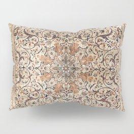 Silk Esfahan Persian Carpet Print Pillow Sham