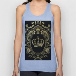 Gold Crown Unisex Tank Top