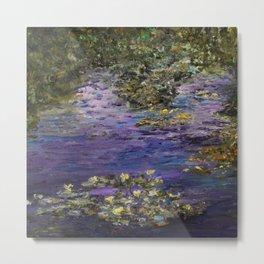 Monet's Giverny Gardens Metal Print