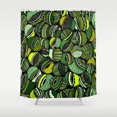 Aristoloschia Green Shower Curtain