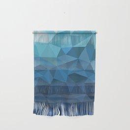 blue geometric Wall Hanging
