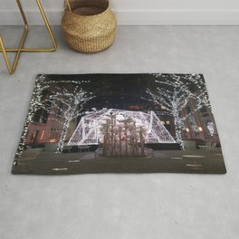 Winter Tent in NYC Rug