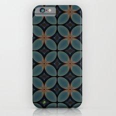 Metallic Deco Blue Slim Case iPhone 6