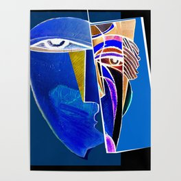Metaphysical Head Poster