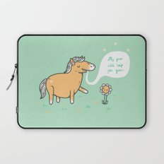 My poo will help you grow! Laptop Sleeve