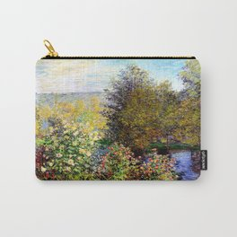 Claude Monet : A Corner of the Garden at Montgeron Carry-All Pouch