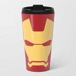 Iron man superhero Metal Travel Mug