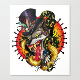 Voodoo Wolf Daddy Canvas Print