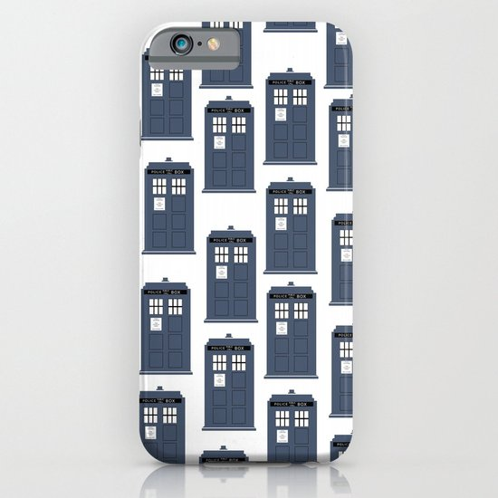 Doctor WHO Tardis Pattern iPhone & iPod Case