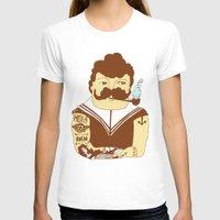 sailor T-shirts featuring Sailor by Regina Rivas Bigordá
