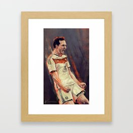 Mats Hummels Framed Art Print