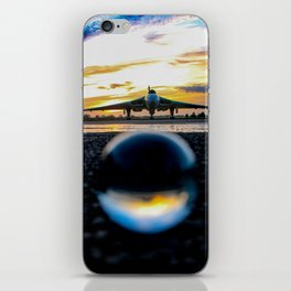 in and out of focus iPhone Skin