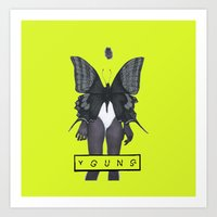 Young Butterfly Art Print