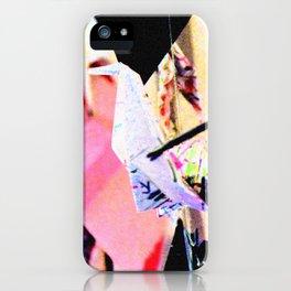 Paper Cranes iPhone Case