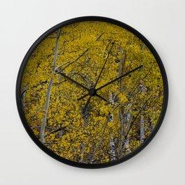 Quaking Aspen Wall Clock