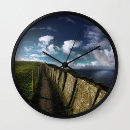 Moher I Wall Clock