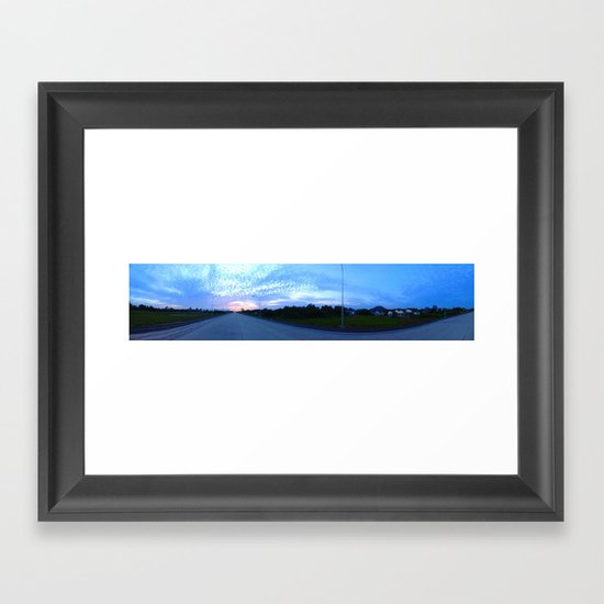 To The Sun Framed Art Print