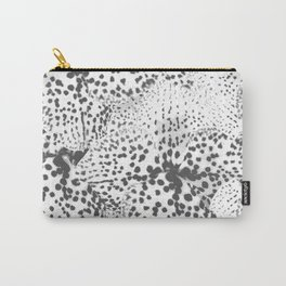 Dalmatian spots in Grey  Carry-All Pouch
