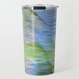 Coastline Mosaic Abstract Art Travel Mug