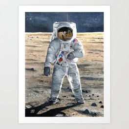 For All Mankind Art Print