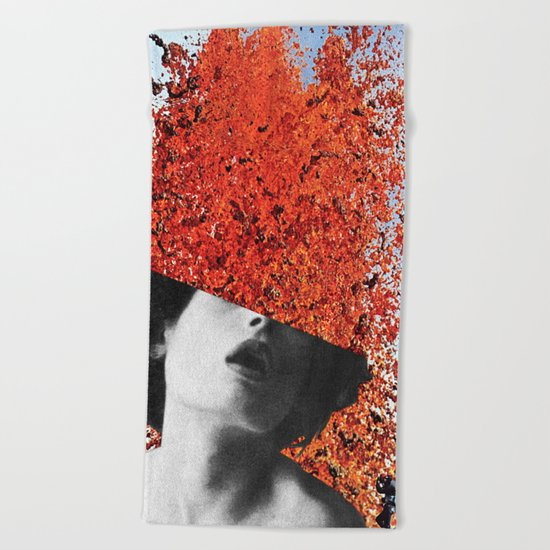 Die in Despair / Live in Ecstasy Beach Towel