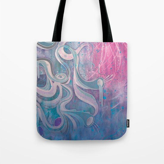 Electric Dreams Tote Bag