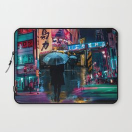 Japan street night Laptop Sleeve