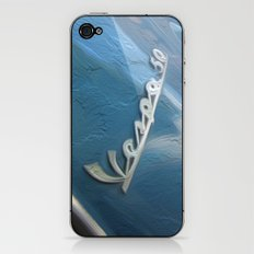 Vespa dreaming iPhone & iPod Skin