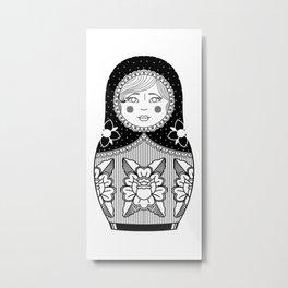 The Russian Doll Metal Print